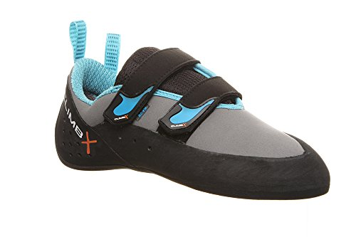 Climb X Redpoint 2.0 Climbing Shoe with Free Sickle M-16 Climbing Brush (Men's 8, Blue)