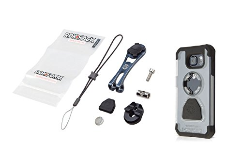 Rokform [iPhone 5/5s] Pro-Series Adjustable Aluminum Bike Mount / Holder & Protective Phone Case,...