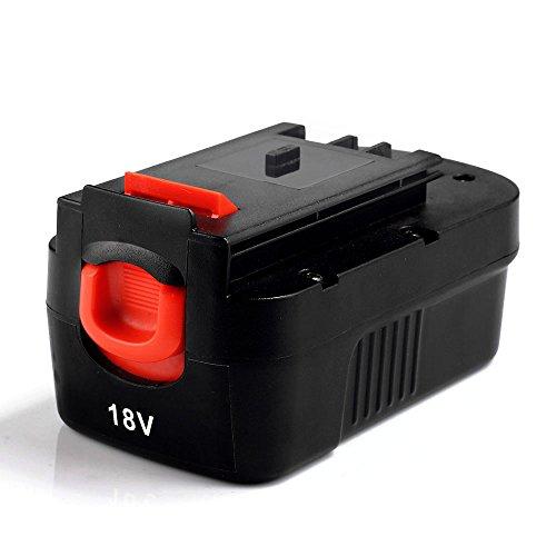 Masione 2000mah NI-CD Battery for Black & Decker 18volt Power tools HPB18 HPB18-OPE 244760-00 A1718...