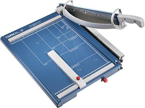 Dahle 565 Premium Guillotine Trimmer, 15-1/8' Cut Length, 35 Sheet Capacity, Self-Sharpening Blade,...