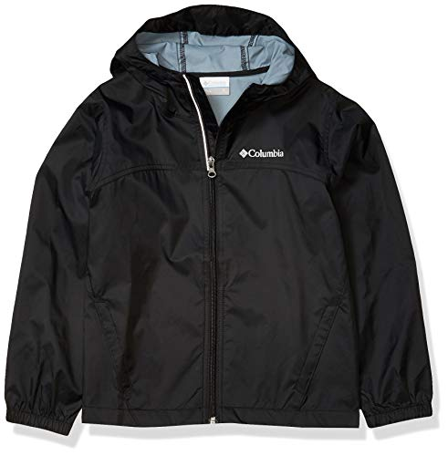 Columbia Boys Glennaker Rain Jacket, Tangy Orange, Medium