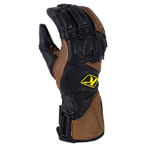 Klim Adventure Men's Dirt Bike Motorcycle Long Gloves - Brown/X-Large