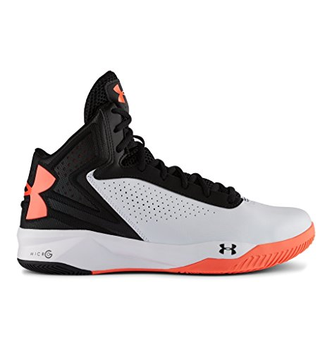 Under Armour Mens UA Micro G Torch Basketball Shoes 11.5 White