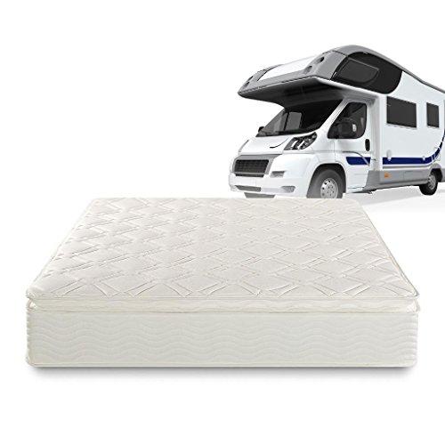 Zinus Ultima Comfort 10 Inch Pillow Top Spring Mattress,Short Queen