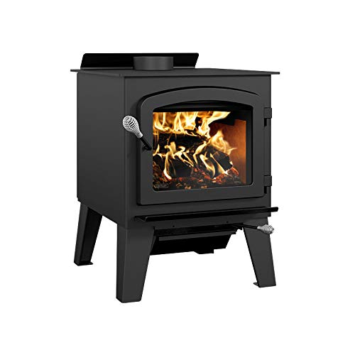 Drolet Austral III - Extra Large 2020 EPA Certified Wood Stove - 90,000 BTU – 2,300 sq.ft., Model#...