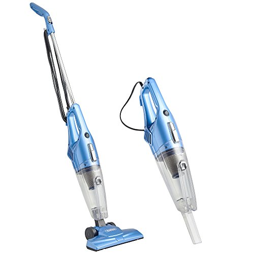 VonHaus 2 in 1 Corded Upright Stick & Handheld Vacuum Cleaner with HEPA Filtration & Crevice Tool -...