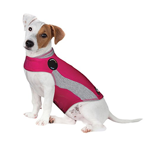 Thundershirt Polo Dog Anxiety Jacket, Pink, Small, Small (15-25 lbs) (819505011813-Parent)