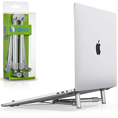 Steklo MacBook Pro Stand - X-Stand Aluminum Laptop Stand for 12 13 15 17 inch - Adjustable Laptop...