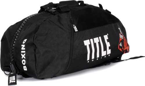 Title World Champion Sport Bag/Back Pack, Black