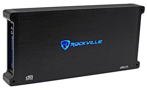 Rockville dB55 4000 Watt/1000w CEA RMS 5 Channel Amplifier Car Stereo Amp, Loud!