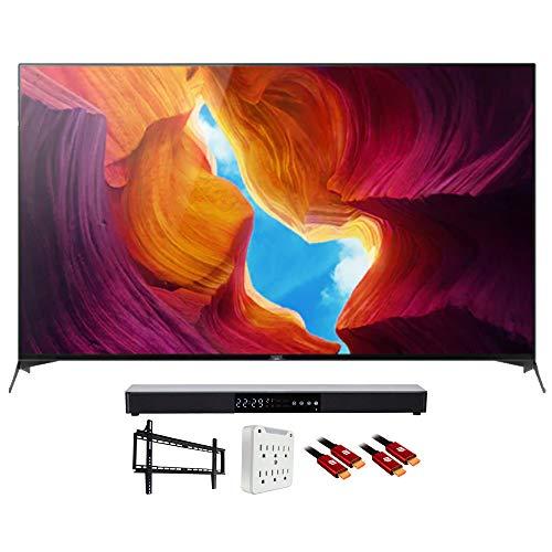 Sony XBR85X950H 85' X950H 4K Ultra HD LED TV (2020) with Deco Gear Soundbar Bundle