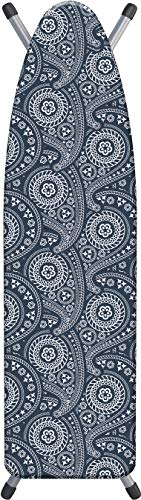 Laundry Solutions by Westex Paisley Deluxe Triple Layer Extra-Thick Ironing Board Cover and Pad, 15'...