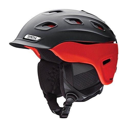 Smith Optics Vantage Adult Ski Snowmobile Helmet - Matte Black Fire/Medium