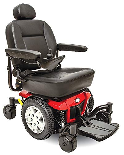 Pride Jazzy 600 ES Electric Wheelchair with Inside Delivery and Setup Option (Curbside Delivery,...