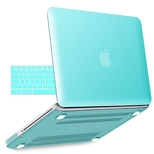 IBENZER Old MacBook Pro 13 Inch case A1278, Soft Touch Hard Case Shell Cover with Keyboard Cover for...