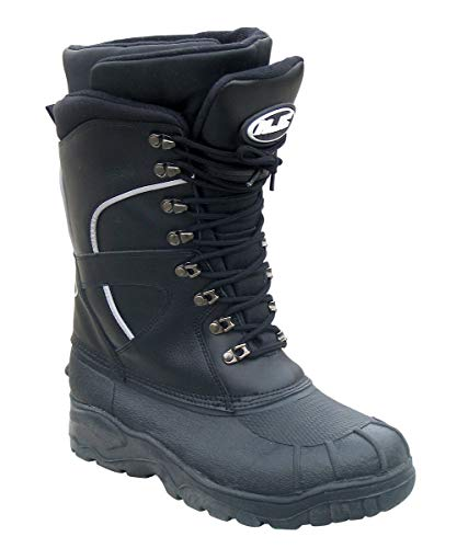 HJC Extreme Men's Snow Boots (Black, Size 14)