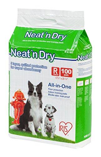 IRIS USA Neat n' Dry Pet Training Pads