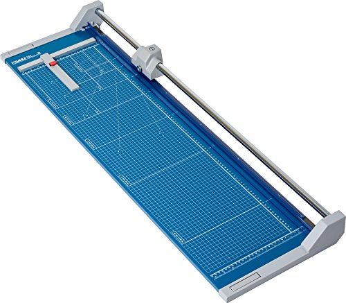 Dahle 556 Professional Rolling Trimmer, 37-3/4' Cut Length, 14 Sheet Capacity, Self-Sharpening,...