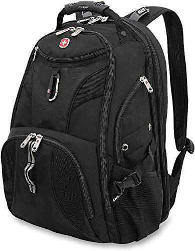 SWISSGEAR 1900 ScanSmart Laptop Backpack (Black)