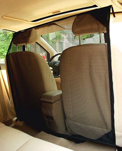 NAC&ZAC SUV Pet Barrier - High See Through Net Vehicle Pet Barrier to Keep Dogs and Pet Hair Out of...