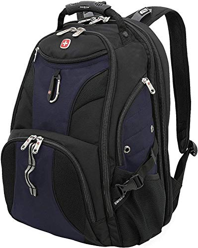 SWISSGEAR 1900 ScanSmart Laptop Backpack- Blue/Black