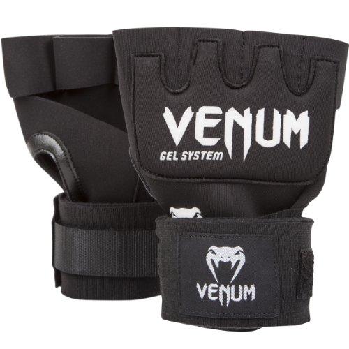 Venum 'Kontact' Gel Glove Wraps, Black