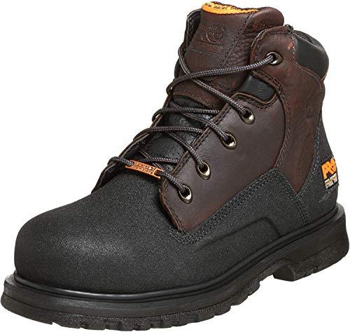Timberland PRO Men's 47001 Power Welt Waterproof 6' Steel-Toe Boot,Brown/Brown,10 W