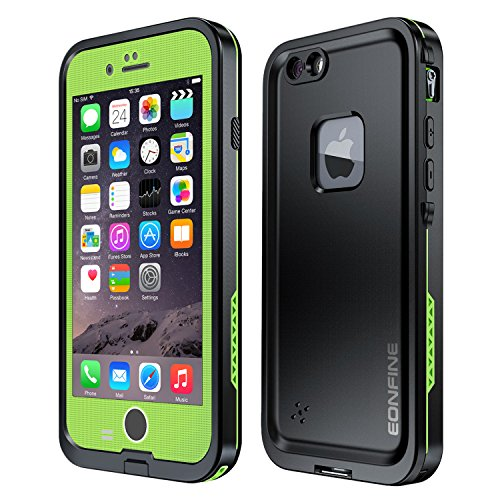 iPhone 6 Plus Waterproof Case,Eonfine Underwater Durable Protective Case IP68 Certified Fingerprint...