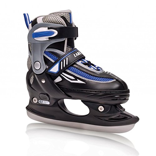 Lake Placid Metro Boy's Adjustable Figure Ice Skate (Large (6-9))