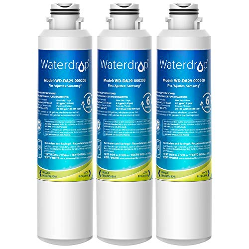 Waterdrop DA29-00020B Samsung Water Filter for Refrigerator, Replacement for DA29-00020A/B,...
