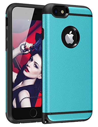 iPhone 6S Plus Case, iPhone 6 Plus Case, CHTech Fashion Double Layer Heavy Duty Protection Scratch...