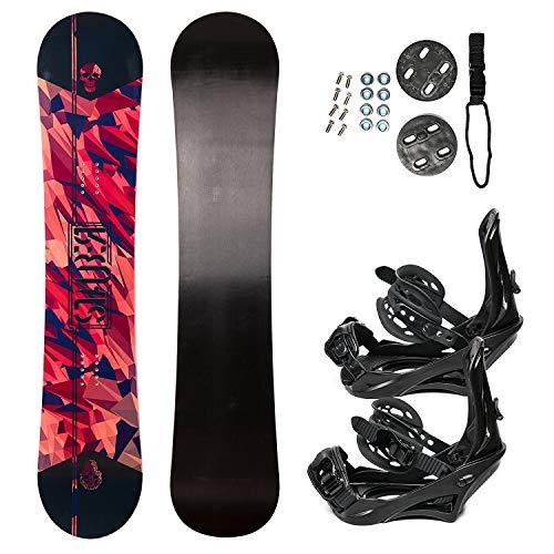 STAUBER 148cm Summit Snowboard & Binding Package Sizes 128, 133, 138, 143, 148,153,158, 161- Best...