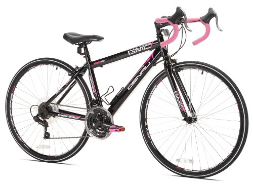 GMC Denali Road Bike, 41cm/X-Small, Black/Pink