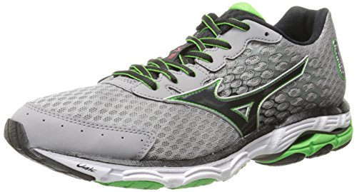 Mizuno Men's Wave Inspire 11 Running Shoe,Alloy Black,9.5 D US