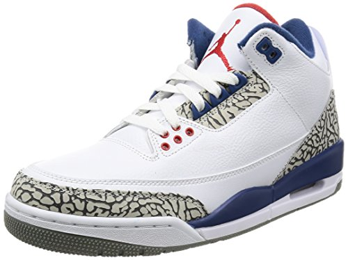 Nike Men's Air Jordan 3 Retro OG White - 10 D(M) US
