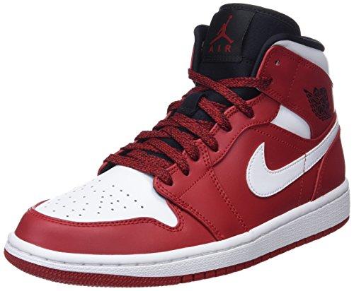 Nike Men's Air Jordan 1 Mid Basketball Shoe (13)