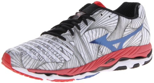 Mizuno Men's Wave Paradox Running Shoe,White,14 D US