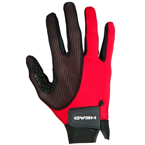 HEAD Leather Racquetball Glove - Web Extra Grip Breathable Glove for Right & Left Hand
