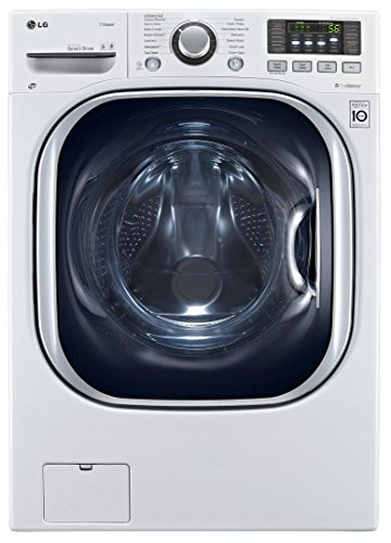 LG WM3997HWA Ventless 4.3 Cu. Ft. Capacity Steam Washer/Dryer Combination with TurboWash,...