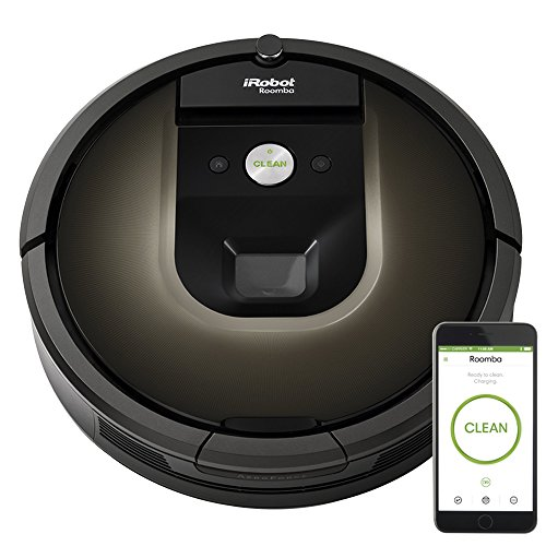 iRobot Roomba 980 Vacuum Cleaning Robot + 2 Dual Mode Virtual Wall Barriers (With Batteries)...