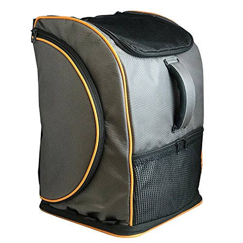 Pet Magasin Pet Travel Carrier Backpack [Airline Approved] Pet Transportation Kennel with Sturdy...