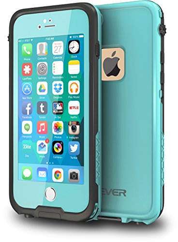 CellEver iPhone 6 / 6s Case Waterproof Shockproof IP68 Certified SandProof Snowproof Full Body...