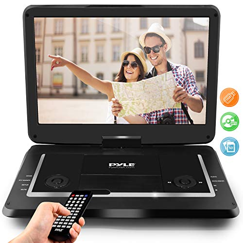 "Pyle 17.9"" Portable DVD Player, With 15.6 Inch Swivel Adjustable Display Screen, USB/SD Card..."