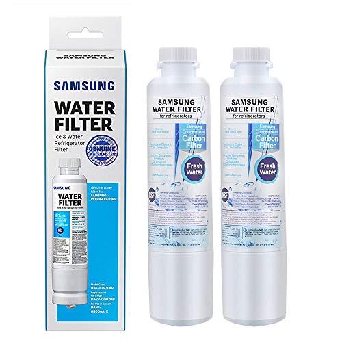 SAMSUNG DA29-00020B-2P HAF-CIN Refrigerator Water Filter, 2 Count (Pack of 1), White