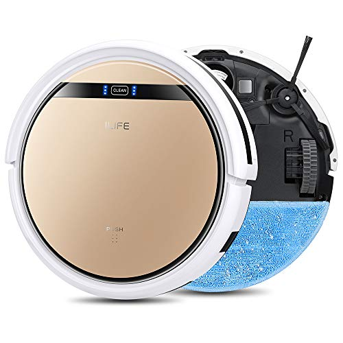 ILIFE V5s Pro, 2-in-1 Mopping,Robot Vacuum, Slim, Automatic Self-Charging Robotic Vacuum, Daily...