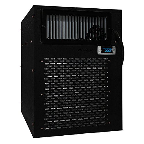 Vinotemp WM-3500HZD Wine-Mate Self-Contained Cellar Cooling System, Black