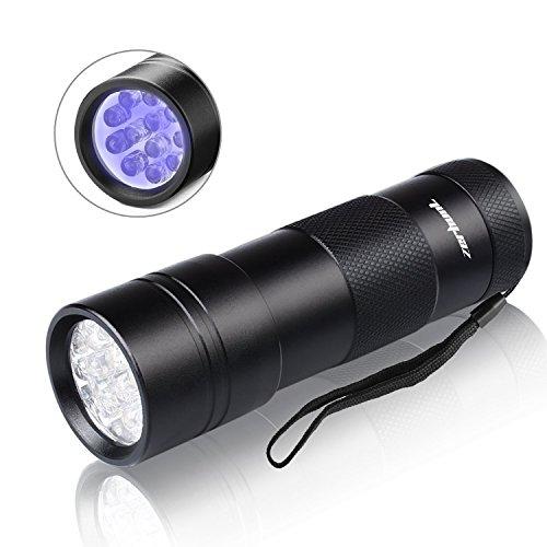 UV Detect UV Flashlight - Best LED Ultra Violet Blacklight for Pet Stains - Cat Stain Detector, Dog...