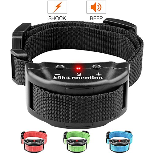 k9konnection [Collars Dog No Bark Shock Collar Training System with Harmless Warning Beep & 7 Levels...