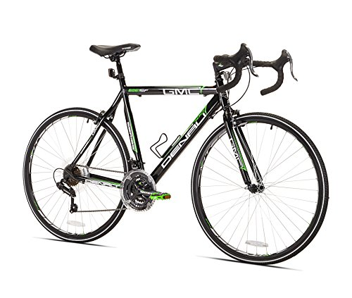 GMC Denali Road Bike, Black/Green, 20-Inch/Small