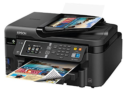 Epson WorkForce WF-3620 WiFi Direct All-in-One Color Inkjet Printer, Copier, Scanner, Amazon Dash...
